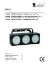 Luxibel LX111 Operation & User's Manual 39 pages