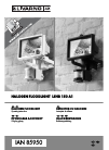 LIVARNO LUX LSHB 150 A1 Operating Instructions Manual 52 pages
