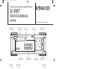 Kenwood X-VH7 Service Manual 14 pages