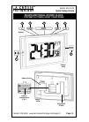 La Crosse 519-1416 Quick Setup Manual 6 pages