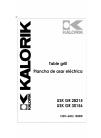 Kalorik USK GR 30156 Operating Instructions Manual 16 pages
