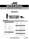 JVC HM-DH30000U - D-VHS HDTV Digital Recorder Service Manual 38 pages