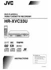 JVC HR-XVC33U Instruction Manual 97 pages