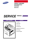 Samsung SCX-5315F Service Manual 188 pages