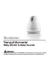 Brookstone tranquil moments Operation & User's Manual 31 pages