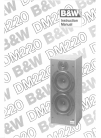Bowers & Wilkins DM220 Instruction Manual 4 pages