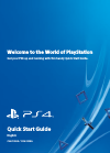 Sony PlayStation 4 Quick start manual