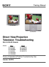 Sony KV-32HS500 Instructions: TV stand  (primary )