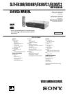 Sony SLV-E830B