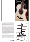 Crafter Guitar Owner's Manual 4 pages