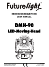 Future light DMH-90 Operation & User's Manual 48 pages