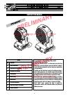 Clay Paky A.LEDA B-EYE K10 Instruction Manual 31 pages