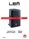 LEM T5A Owner's Manual 18 pages