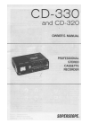 Superscope CD-330 Owner's Manual 40 pages