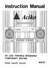 Aciko ACR 113 Instruction Manual 15 pages