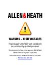 ALLEN & HEATH RPS14