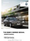 BMW 3 SERIES SEDAN - PRODUCT CATALOGUE