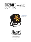 Blizzard Lighting puck Q12 Operation & User's Manual 16 pages
