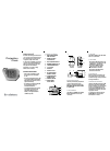 Brookstone 595272 Operation & User's Manual 2 pages