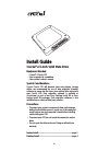 Crucial 2.5-inch Solid State Drive Install Manual 6 pages
