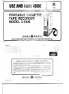 GE 3-5308 Use And Care Manual 5 pages