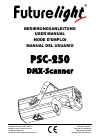Future light PSC-250 Operation & User's Manual 90 pages