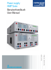 Hameg HMP Series Operation & User's Manual 44 pages