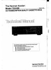 Harman Kardon TD4400 Technical Manual 47 pages