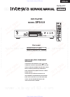 Integra DPS-5.9 Service Manual 52 pages