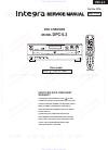 Integra DPC-5.3 Service Manual 46 pages