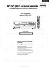 Integra DPC-5.2 Service Manual 31 pages
