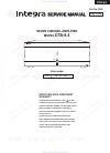 Integra DTA-9.4 Service Manual 64 pages