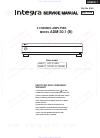 Integra ADM-30.1 (B) Service Manual 51 pages