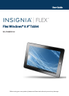 Insignia NS-P89W6100 Operation & User's Manual 83 pages
