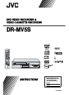 JVC DR-MV5S Instructions Manual 99 pages