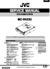 JVC MC-R433U Service Manual 4 pages