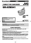 JVC GR-AXM341 Usermanualmanual