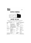 JVC VN-700 Service Manual 28 pages