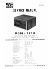 JVC 5100 Service Manual 14 pages