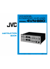 JVC 4VN-880 Instruction Book 27 pages