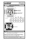 La Crosse WT-8005U Instruction Manual 4 pages