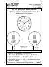 La Crosse 404-1235UA-SS Instruction Manual 6 pages
