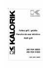 Kalorik USK FGH 30035 Operating Instructions Manual 28 pages