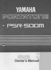 Yamaha PSR-500m