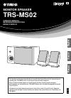 Yamaha TRS-MS02