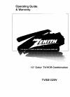 Zenith TVSB1320V