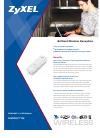 ZyXEL Communications NWD-271N - Brochure
