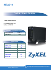 ZyXEL Communications NSA310 Quick Start Manual 90 pages
