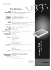 Dialogue Flybook V33i Specifications 2 pages