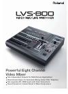 Edirol LVS-800 - Brochure